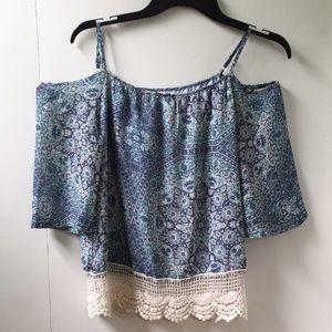Off the shoulder tank/blouse